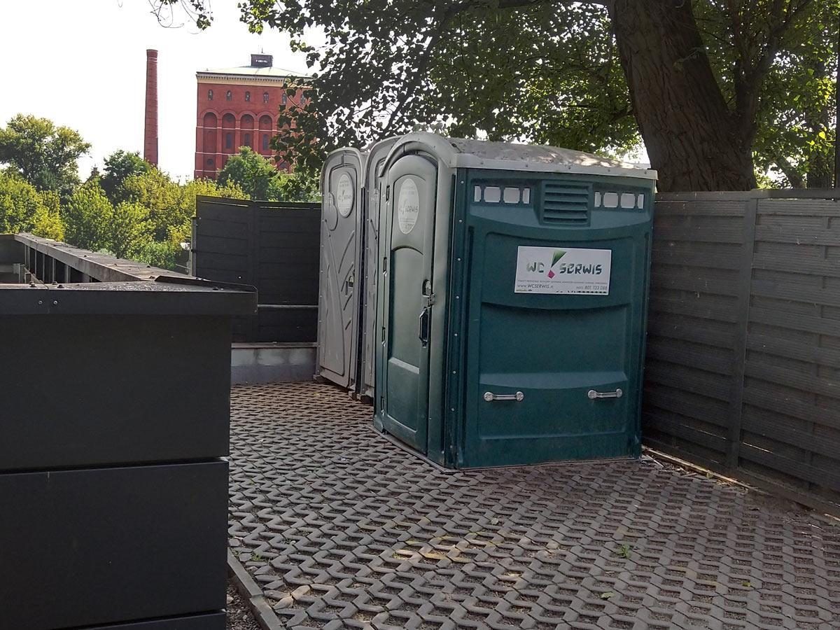 wynajem toalety przenośnej